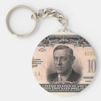 Hundred Thousand Dollar Bill Key Chains