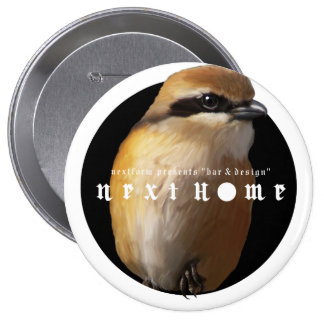 Hundred tongue birds /badge pinback buttons
