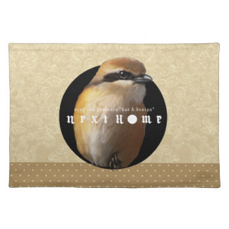 Hundred tongue birds /luncheonmat placemats
