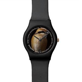 Hundred tongue birds wristwatch
