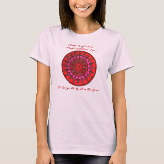 Hundreds of Hearts (Red) T-Shirt