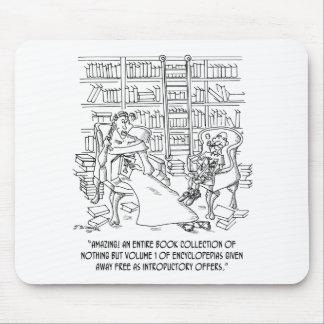 Hundreds of Volume 1 Encyclopedias Mouse Pad