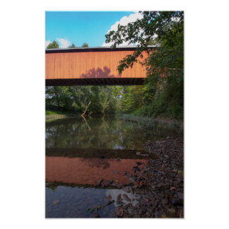 Hune Covered Bridge, Ohio Poster