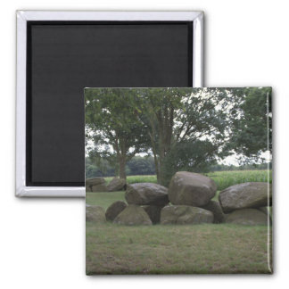 Hunebed 2 Inch Square Magnet