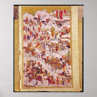Hunername' manuscript: Suleyman Poster