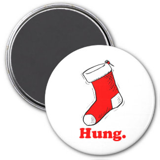 Hung 3 Inch Round Magnet