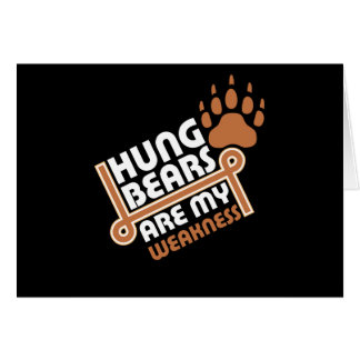 Hung bears are my weakness rev card