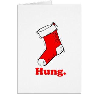 Hung Greeting Card