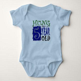 Hung like a 5 year old tee shirt