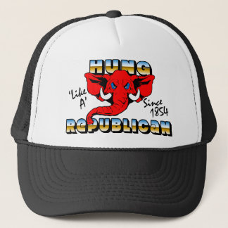 Hung Like A Republican! Trucker Hat