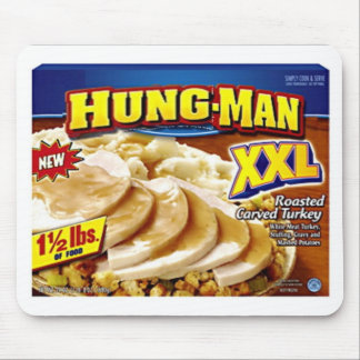 Hung-Man Dinner Mouse Pad