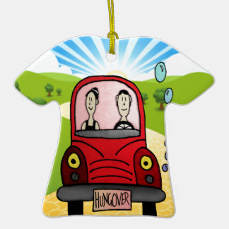 Hung-over Car Christmas Ornaments