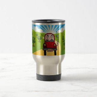Hung-over Car Travel Mug