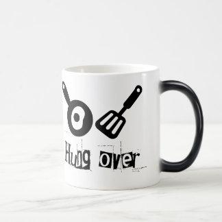 Hung Over - Frying Pan & Egg Magic Mug