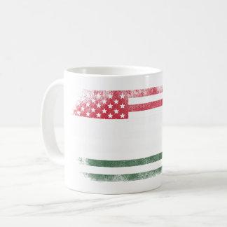 Hungarian American Flag   Hungary and USA Design Coffee Mug