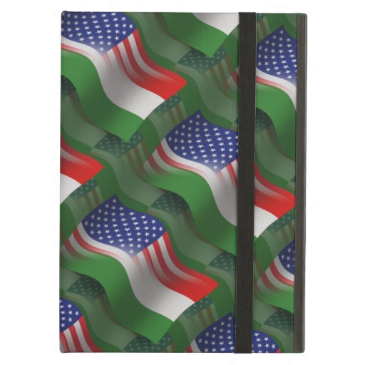 Hungarian-American Waving Flag iPad Cases