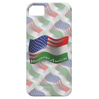 Hungarian-American Waving Flag iPhone SE/5/5s Case