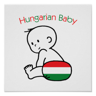 Hungarian Baby Poster