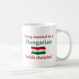 Hungarian Builds Character Coffee Mug