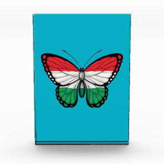 Hungarian Butterfly Flag Acrylic Award