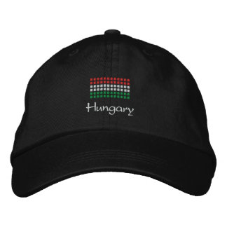 Hungarian Cap - Hungarian Flag Hat Embroidered Baseball Caps