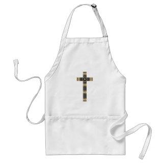 hungarian catholic cross religion god symbol stole adult apron