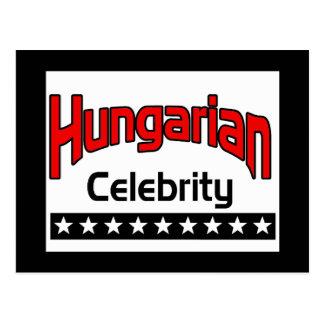 Hungarian Celebrity Postcard