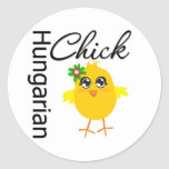 Hungarian Chick Stickers