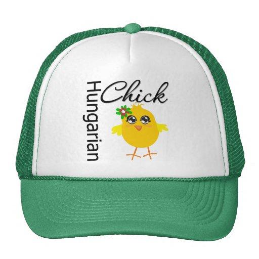 Hungarian Chick Trucker Hat