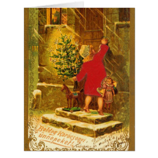 Hungarian Christmas from 1896 Cards