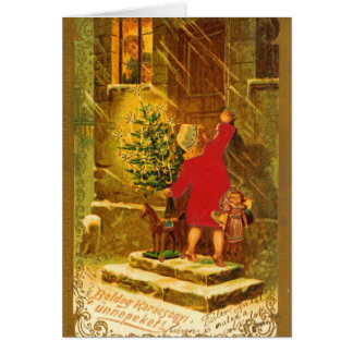 Hungarian Christmas from 1896 Greeting Cards