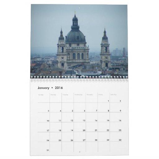 Hungarian churches 2013 calendar