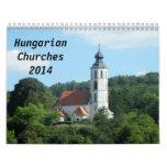 Hungarian churches 2014 calendar