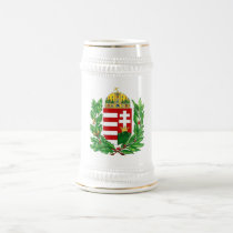 Hungarian Coat of Arms Beer Stein