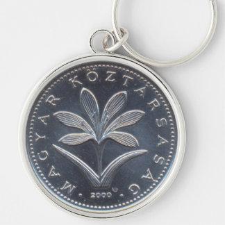 Hungarian Coin Design Keychain