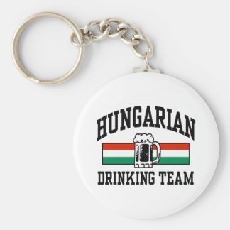 Hungarian Drinking Team Key Chains