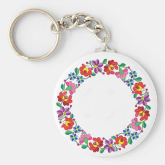 Hungarian Embroidery Keychain