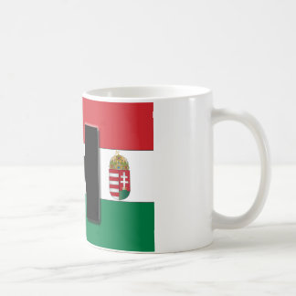 Hungarian Flag and Crest Mug