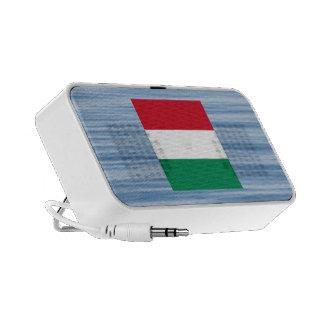 Hungarian Flag Floating on water Speaker System