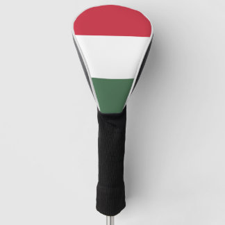 Hungarian flag golf head cover