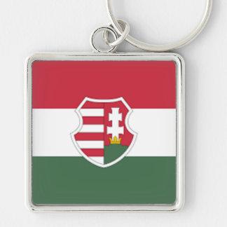 Hungarian Flag Keychain