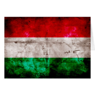 Hungarian Flag Stationery Note Card
