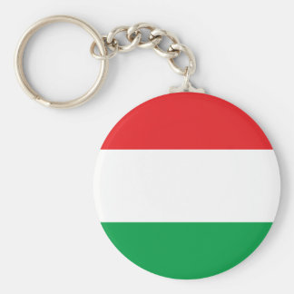 Hungarian Flag T-shirts and Gifts Basic Round Button Keychain