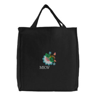 Hungarian Floral Embroidered Tote