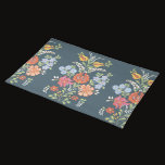 Hungarian Floral Pattern Cloth Placemat