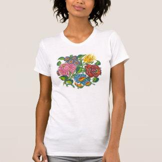 hungarian flowers t-shirts
