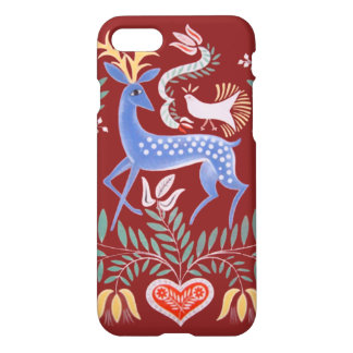 Hungarian Folkart Stag iPhone 8/7 Case