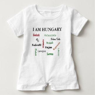 Hungarian Foods Baby Romper