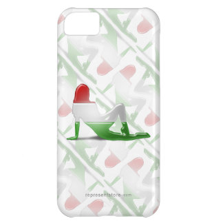Hungarian Girl Silhouette Flag iPhone 5C Cover