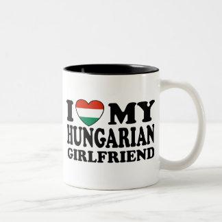 Hungarian Girlfriend Two-Tone Coffee Mug